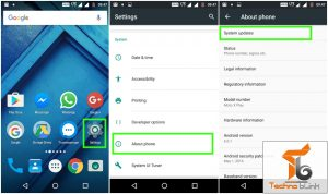 How to update or downlod latest android version