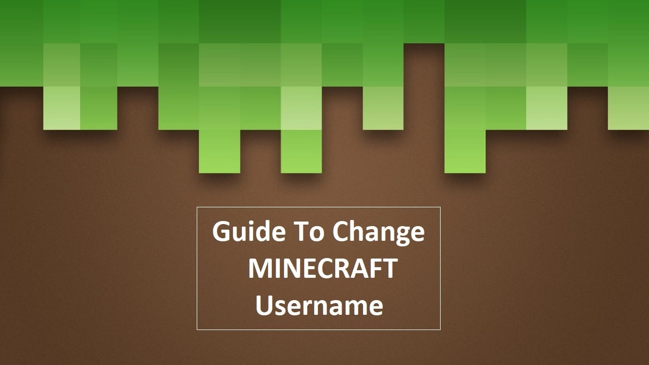 Minecraft change name, change minecraft username