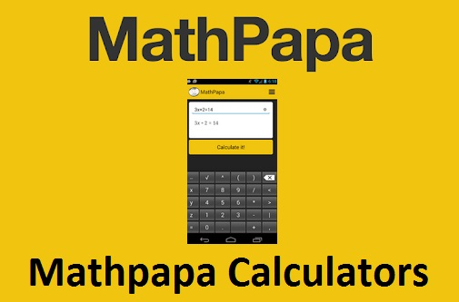 Mathpapa, algebra calculator, Mathpapa Algebra Calculator