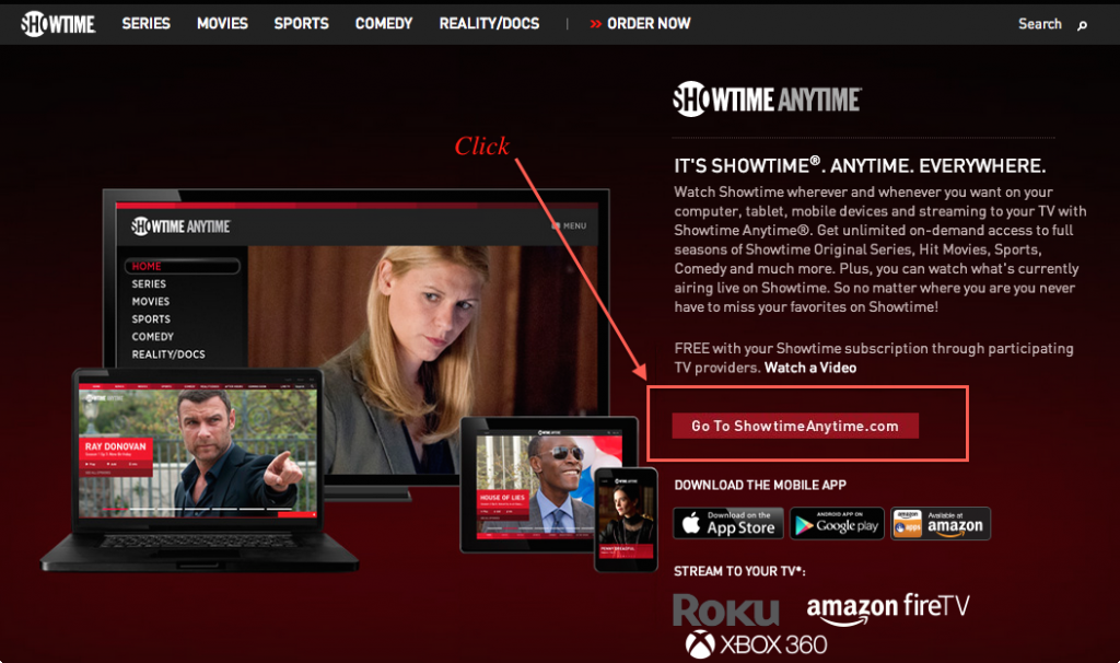 showtime anytime.com/activate, Activate Showtime Anytime, Showtime Anytime, Showtime Anytime App