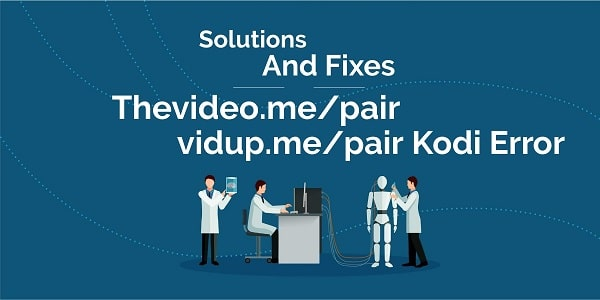 vidup.me/pair, Kodi server