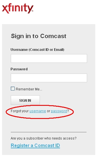 Comcast email, Comcast.net Email Login